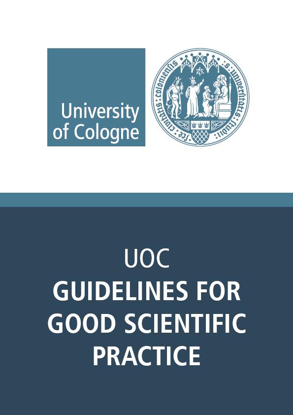 Good Scientific Practice Guidelines