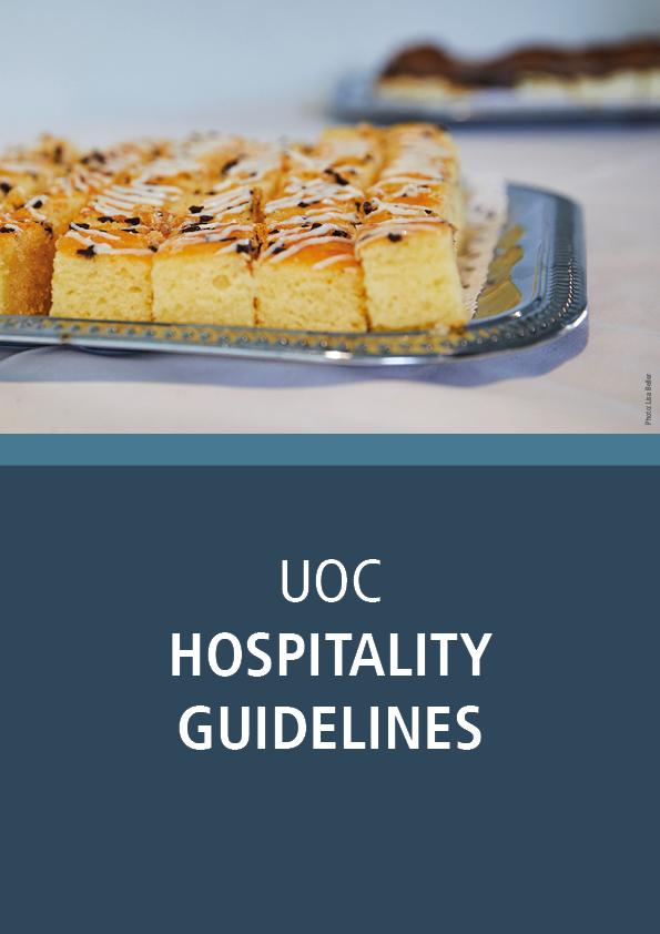 UoC Hospitality Guidelines
